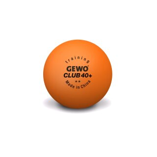 GEWO Ball Training Club 40+ ** 20x 72er Karton